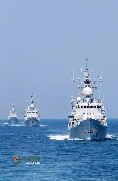 Trung Quốc tập trận cả ngày lẫn đêm trên Biển Đông - ảnh 8