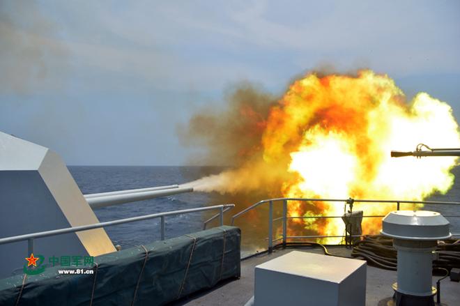 Trung Quốc tập trận cả ngày lẫn đêm trên Biển Đông - ảnh 5