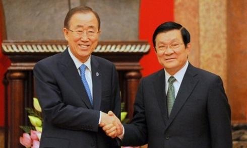 Liên Hợp Quốc lo ngại về căng thẳng trên Biển Đông