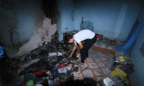 Người dân chưa dám về nhà sau sự cố phóng điện cao thế