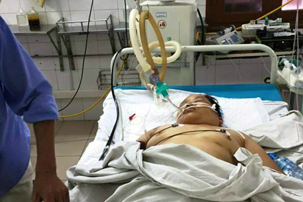 Bệnh nhân nguy kịch do bị sốc thuốc gây tê