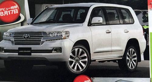 Toyota Land Cruiser nâng cấp lộ diện?