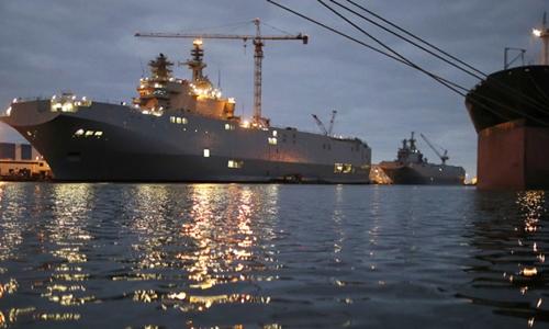 Nga hủy mua tàu chiến hơn một tỷ đôla của Pháp