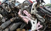 Người dân băn khoăn khi giao nộp xe máy thải loại