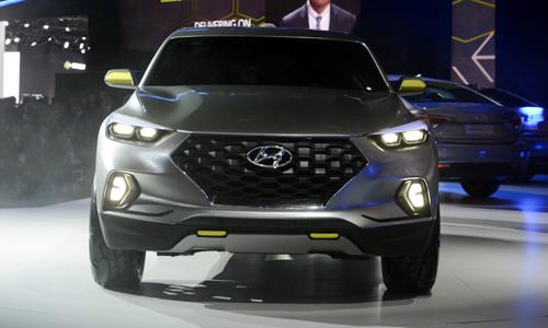 Hyundai phát triển bán tải dựa trên Tucson 2016