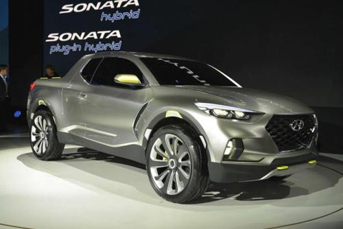 Hyundai Santa Cruz concept.