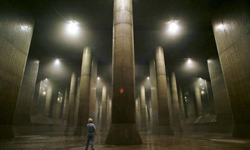 Hệ thống cống khổng lồ dưới lòng Tokyo