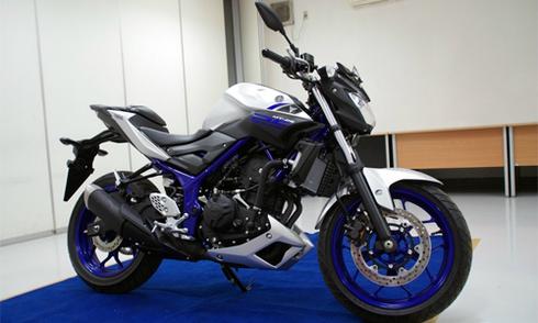 Yamaha MT-25 ra mắt giá 3.440 USD