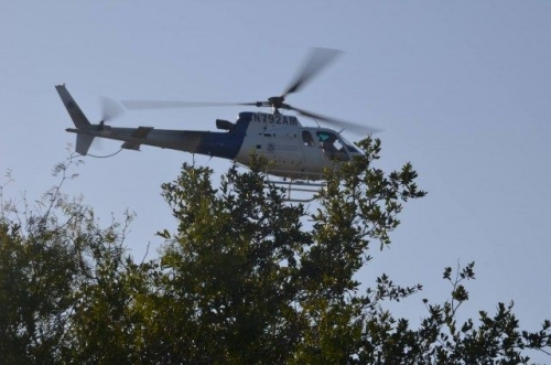 Trực thăng của cơ quan hải quan và bảo vệ biên giới Mỹ. Ảnh: