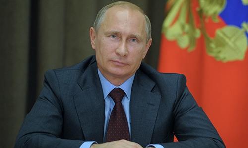 Tổng thống Nga Vladimir Putin. Ảnh: RIA Novosti.