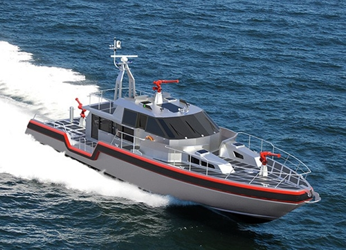 tàu tuần tra Metal Shark Defiant 75 Class. Ảnh: metalsharkboats.com