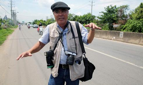 Nhiếp ảnh gia 'Em bé Napalm' thăm lại chốn cũ sau 43 năm