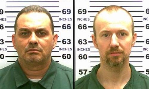 Richard Matt (trái) và David Sweat. Ảnh: CNN