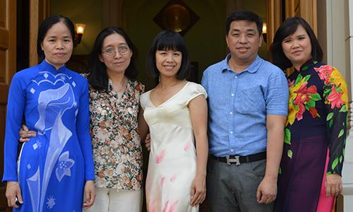 Nữ phiên dịch Việt ở Nga đạt giải nhất chung cuộc