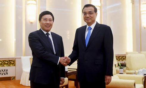 Việt - Trung nhất trí kiểm soát bất đồng trên Biển Đông