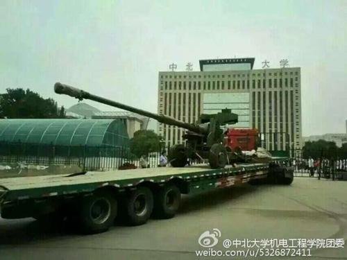 mẫu pháo bắn đạn xuyên giáp mới