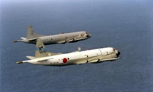 Phi cơ Nhật, Philippines bay trên Biển Đông, thách thức Trung Quốc