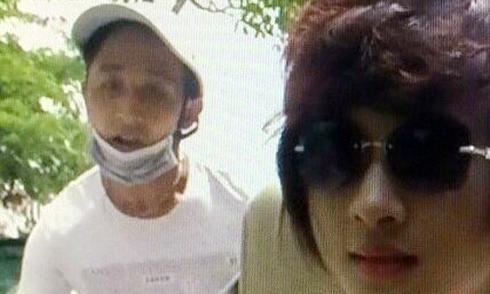 Diễn viên Kim Tuyến bị cướp khi đóng phim trên ôtô mui trần