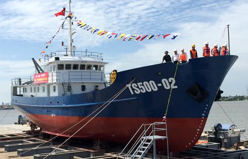 Cảnh sát biển Việt Nam có tàu trinh sát hiện đại