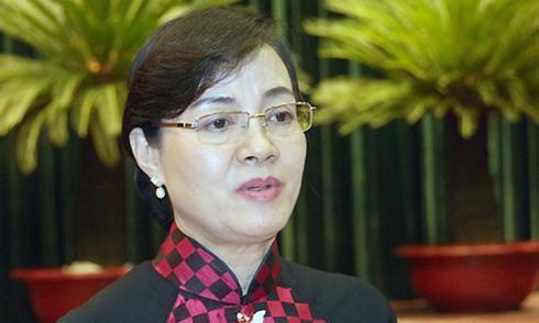 Bà Nguyễn Thị Quyết Tâm: 'TP HCM không có quyền thu hay không thu phí'