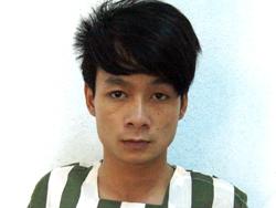 Trần Văn Linh tại công an. Ảnh: Nguyệt Triều.