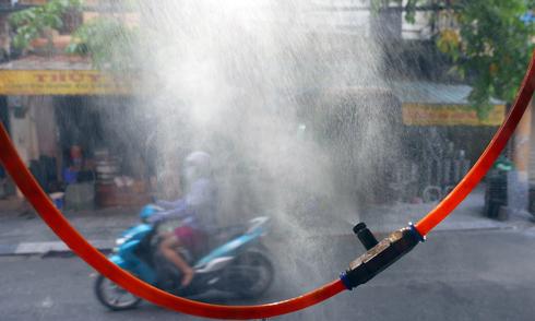 Các kiểu chống nóng của người Hà Nội