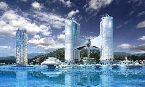 Tháp 65 tầng không được xây trên bãi biển Nha Trang
