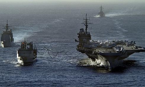 Mỹ, Nhật, Australia tập trận chung răn đe Trung Quốc