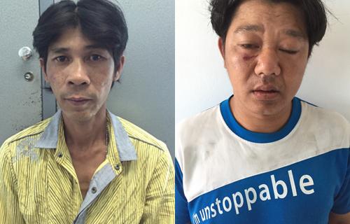 Đua tốc độ với đặc nhiệm Sài Gòn, 2 tên cướp bị đá văng