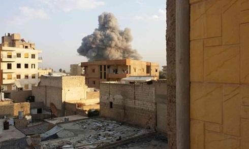 Liên quân không kích dữ dội trung tâm đầu não của IS