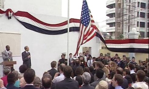 Người giúp kéo lá cờ Mỹ đầu tiên ở Việt Nam sau chiến tranh
