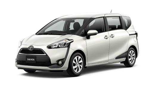 Toyota Sienta - minivan kiểu mới cho người Nhật