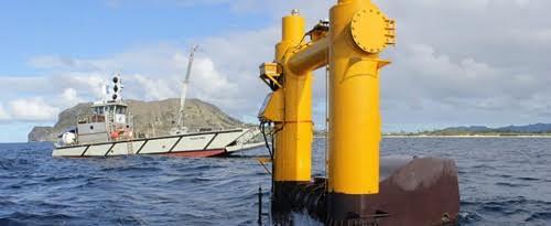 Mỹ phát triển công nghệ khai thác năng lượng sóng biển