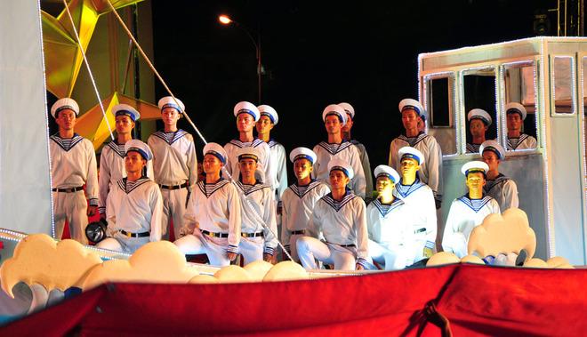 Vietnam navy guardians