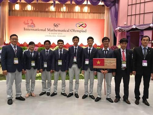 Việt Nam đại thắng tại Olympic Toán học quốc tế