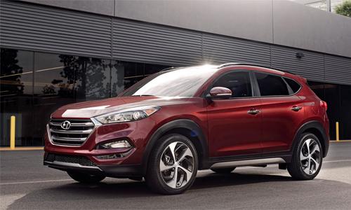 Hyundai Tucson 2016 giá từ 22.700 USD tại Mỹ.