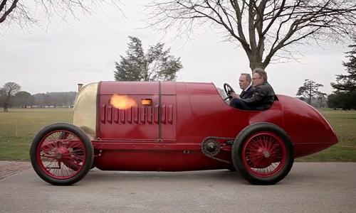 Fiat S76 - 'Quái vật' trở lại sau 100 năm. >>Xem video.