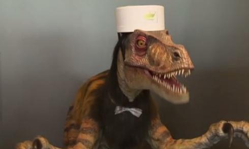 Khủng long làm lễ tân trong khách sạn Nhật