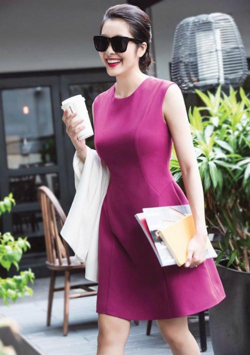 Hình ảnh mới nhất của Tăng Thanh Hà được một người bạn của cô  chia sẻ.