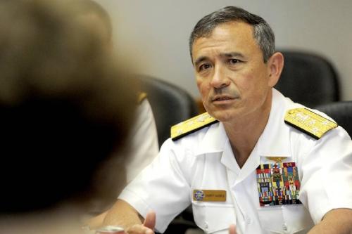Đô đốc Harry Harris, Chỉ huy Bộ Tư lệnh Thái Bình Dương. Ảnh: Timesfreepress