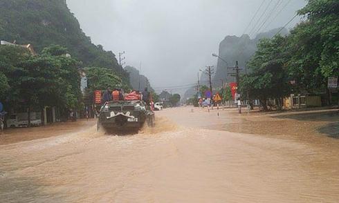 Số người chết trong lũ lịch sử ở Quảng Ninh gia tăng