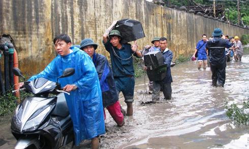 8 người chết, 6 người mất tích vì mưa lũ ở Quảng Ninh