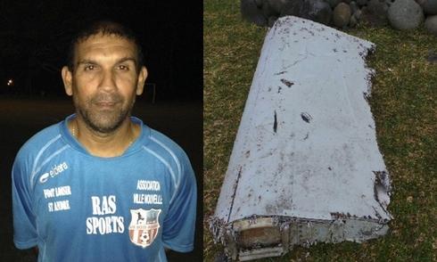 Người dọn bãi biển kể lại việc phát hiện mảnh vỡ nghi của MH370