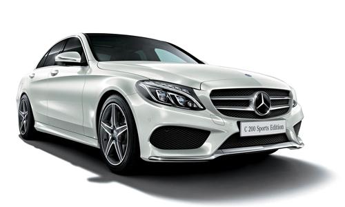 Mercedes C200 Sport Edition giá 45.000 USD tại Nhật Bản, sản xuất giới hạn 700 chiếc.