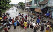 Mưa lớn ở Ấn Độ và Myanmar, hàng chục người chết