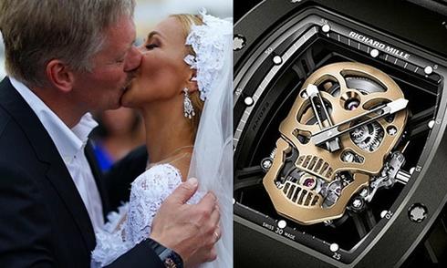 Phát ngôn viên của Putin gây xôn xao vì đeo đồng hồ xa xỉ