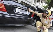 Thủ tục đăng ký, cấp biển số xe theo thủ tục mới