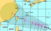 Siêu bão mạnh nhất năm tiến thẳng Đông Á