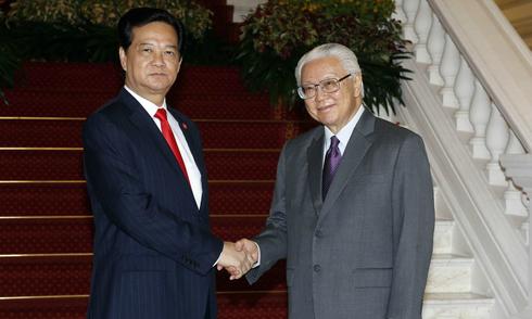 Thủ tướng Nguyễn Tấn Dũng dự kỷ niệm Quốc khánh Singapore