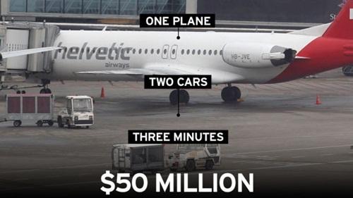 Brussels Airport diamond heist 2013 50 triệu USD